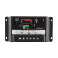 Wholesale solar panel charge controller regulator online - 30A PWM Solar Panel Protection Charger Charge Controller Regulator V V DC