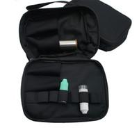 Wholesale Ecig Carrying Cases - Ecig Accessories Vapor Pocket Double Deck Vape Carry Bag Vaping Case with Shoulder Strap For RDA RTA RBA Mech Box Mod All ecigs