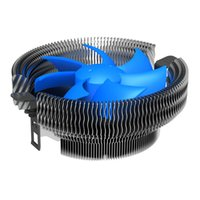 Wholesale intel 775 cooler - Wholesale- Newest 25dBA Low Noise 3pin CPU Cooler with 90mm Detachable Fan for Intel LGA 775  LGA 1155X, for AM2 AM2+ AM3 FM1 - Blue