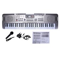 Wholesale Piano 61 - 61 Keys Kids Musical Key Board Instrument Electronic Keyboard Toy For Children Digital Professional Piano Electric Music Toys