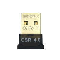 Wholesale Universal MINI USB Bluetooth Adapter CSR CSR8510 A10 Wireless Dongle CSR4 V4 For Win10 Lan access dial up for Respberry pi