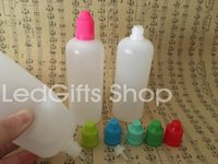 ingrosso bottiglia e liquido porcellana-Fatto nella bottiglia di olio della Cina Bottiglia di plastica del contagocce bottiglie di liquido 120ml E PE E Bottiglia di succo 900pcs / LOT Trasporto libero