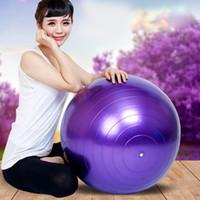 ejercicio aeróbico fitness al por mayor-Al por mayor-Ejercicio Balance Yoga Gym Fitness Fitness Ball Aerobic Abdominal 65 cm MD486