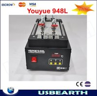 Wholesale Glass Iphone Galaxy Machine - YOUYUE 948L LCD Touch Screen Glass Separator Repair Hot Plate Machine for iPhone Samsung Galaxy Lens Repair