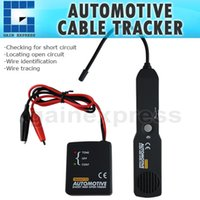 Wholesale Tools Toner - E04-036 6-42V DC Automotive Cable Wire Tracker Short & Open Circuit Finder Toner Tester Car Vehicle Repair Tone Tracer Tool