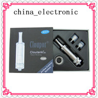 Cloutank m4 Vaporizzatore Clouper Cartomizer Erbe per cisterna a base di erbe asciutte 2 in 1 Clear Air Flow Atomizer
