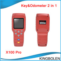 Wholesale Eeprom Obd - X100 X-100 Auto key programmer X 100 pro Mileage correction tool EEPROM Chip read Tool Online Update car odometer correction by OBD cable