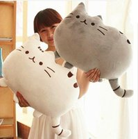Wholesale White Cat Stuffed Animal - Pusheen Plush Toy Stuffed Animal Doll Talking Animal toy Pusheen Cat For Girl Kid Kawaii Cute Cushion Brinquedos Free Shipping