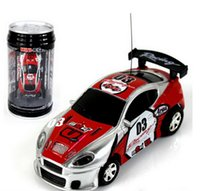2016 nouvelle voiture 4CH RC mise à jour New Coke Can Mini vitesse RC Radio Télécommande Micro Racing Cars Toy Gifts Promotion (Rouge)