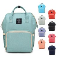 Wholesale Mummy Baby - 14 Colors New Multifunctional Baby Diaper Backpack Mommy Changing Bag Mummy Backpack Nappy Mother Maternity waterproof Backpacks B