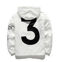 Wholesale Y Jacket - kanyw west Yeezus Y-3 Hooded jacket palace skateboard Jackets Men women Windbreaker Streetwear Sunscreen Jackets us size Free delivery