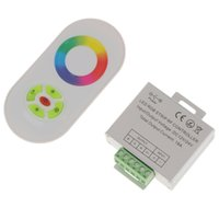 Regolatore a distanza senza fili del rivelatore RF RFID 12V-24V 18A RF per il 3528 RGB LED Strip Light 5050 diodo nastro