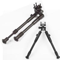 Wholesale Barrel Rail Mounts - Foldable Adjustable Hunting Rifle Bipod With Picatinny Weaver Rail barrel Mount