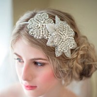 headbands de noiva headbands venda por atacado-Novo 2019 Doce Princesa Cocar Noiva Europeu High-end Handmade Rhinestone Diamante Ornamentos Flor de Noiva Headband Headpieces Casamento