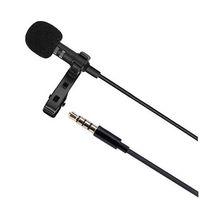microfone condensador estéreo mini venda por atacado-Gw510 profissional microfone de condensador com fio de lapela estéreo mini 3.5mm jack mic para iphone ipad android cantando gravador