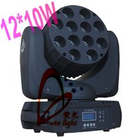 Atacado-Frete Grátis 8 unidades / lote 12 * 10W RGBW 4 in1 LED Feixe LED Light Moving Head Wall Washer Luz