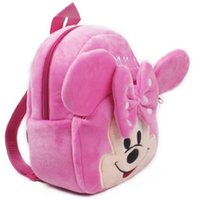 Wholesale Kindergarden Bags - pecial Purpose Bags School Bags Lovely Plush cartoon kids school backpack for child schoolbag for kindergarden girl baby mochila infantil...