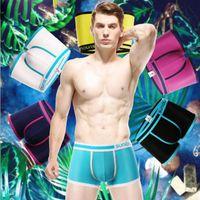 Wholesale Popular Underwear For Men - Casual Plus Size Men Boxers Sexy Man Underwear Solid Modal Brand Boxer Underpants Popular Shorts for Wholesale