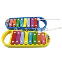 Wholesale Wisdom Smart - Baby Child Kids 8-Note Xylophone Wisdom Smart Clever Development Musical Toy good quality and Free Shipping