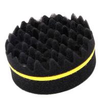 torção mágica do cabelo venda por atacado-Atacado-Cabelo Magic Twist Sponge Brush Rodada para Dreads Locking Coil Afro Onda Onda Ferramenta