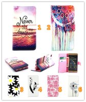 Wholesale Cartoon Design Wallet Case - New Man Style Design Colorful Painted Art Cartoon Painted Flip Case Stand Style Wallet Leather TPU Cover for Huawei P8