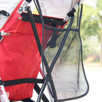 Wholesale Baby Diaper Bottle Organizer - Hot Sale Baby Stroller Hanging Bags Kids Stroller Bag Portable Bottle Diaper Bag Stroller Mesh Hanging Storage Organizer VT0114
