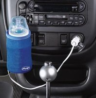 Wholesale Mini Warmer Heater - Portable Universal 12V Car Bottle Warmer Drink Coffee Food Milk Heater For Baby Kids Blue Mini Linear Temperature Programmer Bag 1 pcs