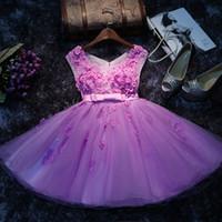 púrpura sexy vestidos de noche al por mayor-2016 Nuevo Verano Púrpura Vestidos de Fiesta Sexy Sin Mangas Mini Club Noche Falda Elegante Vestidos de Fiesta de Las Señoras Falda Chica Más Tamaño Vestidos de Coctel