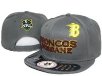 Wholesale Snapback Hats Retail - free shipping retail Hot sale Snapback NRL hat men women outdoor sports cap outdoor sports NRL hats all teams snapback hats