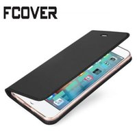 Wholesale Iphone Book Style - Luxury Book style Leather Case For Apple iphone X 5 5S iphone 7 8 Plus iphone 6 6s Plus Magnetic Wallet Protective Case Flip Cover