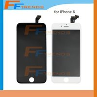 Wholesale Lcd Iphone Testing - LCD Display Touch Digitizer Complete Screen with Frame Full Assembly Replacement for iPhone 6 100% Tested 5pcs lot