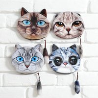 Wholesale Cheap Wallets For Kids - Wholesale Cheap Coin Purse 2016 Women Wallets And Purses 3D Printing Animal Tail Coins Pouch For Kids Zore Wallet Holder Zipper Makeup bag