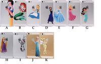 "Wholesale Iphone 4s Case Princess - Promotion Clear Matte Princess Snow White Mermaid Girl Elsa Ariel Hard PC Cover Case For iPhone 4S 5S 5C 6 4.7"" 6 Plus 5.5"""