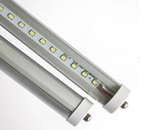 t8 8ft led birne einzigen pin großhandel-Super Bright LED-Röhre T8 8ft FA8 Einzel Pin LED-Schlauch-Lichter 45W SMD 2835 2400mm 8 feets LED-Leuchtstoffbirnen UL CE ROHS
