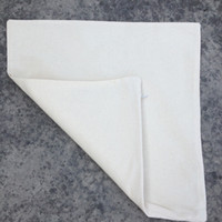 Wholesale Wholesale White Pillow Cases - (50pcs lot) plain natural light ivory color pure cotton twill blank cushion cover wholesale blank pillow cover for custom print pillow case