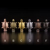 Wholesale Wholesale Turtles For Sale - Hot sale metal tortoise drip tip turtles mouthpiece medical mouthpiece for pipe mods ego RDA atomizer free shipping