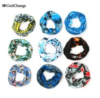 Wholesale Head Scarf Camping - Wholesale-New Arrival CoolChange Brand Outdoor Sports Magic Seamless Multi Functional Scarf Head Band Bicycle Cycing Camping Scarf