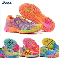 Wholesale Noosa Running Women - Cheap Asics Cushion Gel-Noosa Tri 9 Sports Running Shoes For Women, Lightweight Racing Trainer Blue Pink etc Sneakers Eur Size 36-40