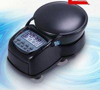 Wholesale Digital Automatic Aquarium Feeder - New LCD Digital Aquarium Automatic Food Feeder Alarm Shockproof CE ROHS Mini shape space-saving Timer Feeder 2pcs