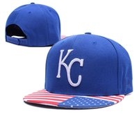 Wholesale Wholesale Cheap Womens Caps - Royals Baseball Snapbacks Blue Snapback Cheap Sports Caps Fashion Hip Hop Hats Summer Sun Hat Cool Womens and Mens Headwears Mix Order