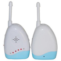2 Set de 2,4 GHz Baba Electronica Wireless Audio Baby Monitor 2 voies Interphone parlant Digital Radio Infirmière Infant Sound Moinitor