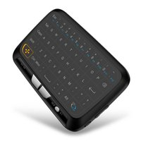 Wholesale windows mini pad - New H18 Wireless Air Mouse Full Touchpad Mini Keyboard 2.4GHz Gaming Touch pad For Smart TV PS3 TV Box PC Android Windows
