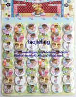 Wholesale Plastic Clinic - Free Shipping New Arrival 96 pcs Doc Mcstuffins Clinic badge, fashion pin badge,badge button 4.5 cm