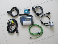 Wholesale Compact Diagnosis - Top quality WIFI MB Star SD C4 compact connect C4 MB Star c4 Diagnosis for mb diagnostic tool 2017.07 HDD Xentry etc.
