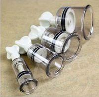 Wholesale Nipple Enlargers - Twist Suction Cupping Nipple Enhancer - 4 Sizes!- enlarger vacuum bondage fetish
