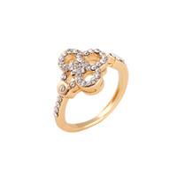 senhoras promessa anéis venda por atacado-Novo Produto de Alta Qualidade Anéis de Moda para a Senhora Transporte Rápido Anéis Brilhantes para o Casamento Casal Rosa de Ouro Promise Anéis