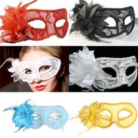 Wholesale Colorful Carnival Masks - New Arrival Black Blue China Swanl Metal Laser Cut Venetian Halloween Ball Masquerade Party Mask DIY Free Shipping Colorful Carnival Masks