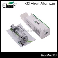2015 Eleaf GS Air-M Dual Coil Atomizer 4 ml GS Air Mega Pyrex Clearomizer 1,5 Ohm mit Airflow Control 100% Vorlage