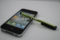 алюминиевая ручка оптовых-Wholesale-Free shipping Aluminum Alloy Stylus Touch Pen for iPad  Touch Phone for  S5 Note 2 3 4 Tablet D51009