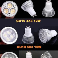 <b>Retail High Power CREE</b> 9W 12W 15W Dimmable GU10 MR16 E27 E14 GU5.3 Lâmpada LED Led Luminária LED